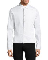 Helmut Lang - Cotton Button-down Shirt - Lyst
