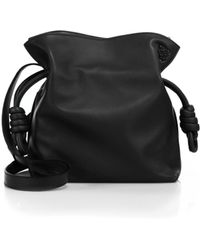 Loewe - Small Flamenco Knot Leather Shoulder Bag - Lyst