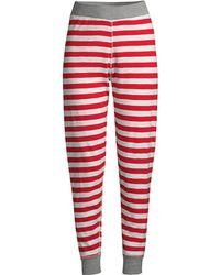 Sleepy Jones - Women's Helen Stripe Leggings - Medium Stripe Navy - Lyst