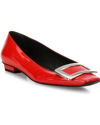 Roger Vivier - Belle Vivier Patent Leather Mid-heel Pumps - Lyst
