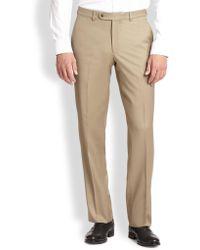 Saks Fifth Avenue | Wool Dress Pants | Lyst
