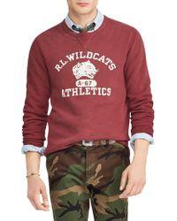 Polo Ralph Lauren - Wildcats Graphic Fleece Sweatshirt - Lyst