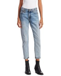 R13 - High-rise Jeans - Lyst