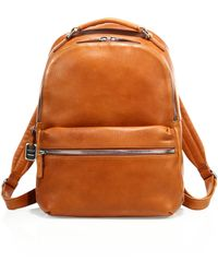 Shinola - Runwell Leather Backpack - Lyst
