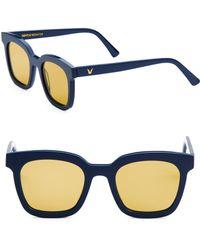ba083d27ec05 Lyst - Gentle Monster Second Boss 52mm Sunglasses in Metallic