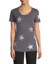 Monrow - Star-print Tee - Lyst