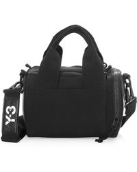 Y-3 - Mini Logo Satchel - Lyst