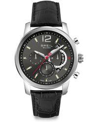 Breil - Stainless Steel Chronograph Watch - Lyst