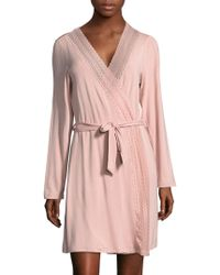 Saks Fifth Avenue - Collection Lori Solid Robe - Lyst