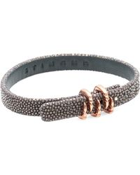 Stinghd - Claw Leather Bracelet - Lyst
