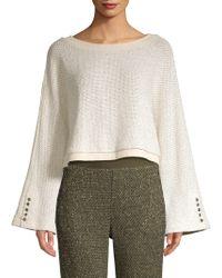Ramy Brook - Maxwell Flare Sleeve Sweater - Lyst