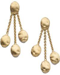 Marco Bicego - Siviglia 18k Yellow Gold Three-strand Earrings - Lyst