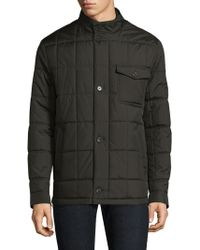 Tumi - Quilted Woven Jacket - Lyst