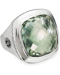 David Yurman - Albion Sterling Silver & Gemstone Ring - Lyst