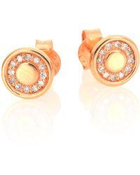 Astley Clarke - Mini Cosmos Diamond & 14k Rose Gold Stud Earrings - Lyst
