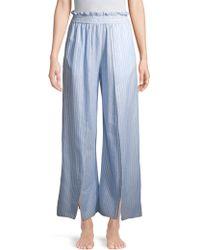 Jonathan Simkhai - Striped Fisherman Pyjama Trousers - Lyst