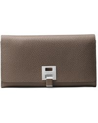 Michael Kors - Textured Leather Continental Wallet - Lyst