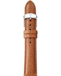 Michele Watches - Saddle Leather Watch Strap/16mm - Saddle - Lyst