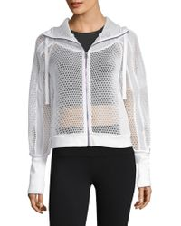 Alo Yoga - Fortuna Mesh Hooded Jacket - Lyst