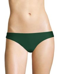 Pilyq - Basic Ruched Bikini Bottom - Lyst