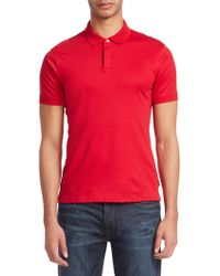 Emporio Armani - Short Sleeve Polo Shirt - Lyst