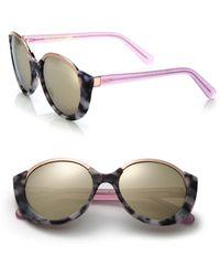 Cutler & Gross - 1202 Mai Tai 55mm Acetate & Metal Sunglasses - Lyst