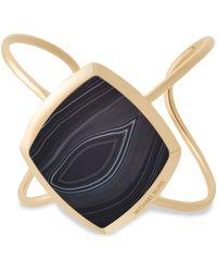 Michael Kors - Cool & Classic Black Agate Cuff - Lyst