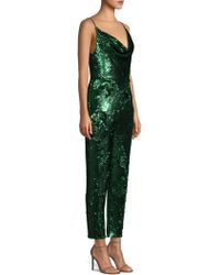 Black Halo - Lucy Sequin Jumpsuit - Lyst