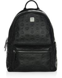 4c1a4d89e30f Lyst - MCM Medium Duke Bionic Embossed Backpack in Black for Men