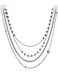 David Yurman - Starburst Necklace - Lyst