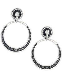 Plevé - Opus Doorknocker Drop Earrings With 3.15 Tcw Diamonds - Lyst