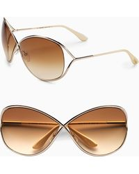 Tom Ford - Miranda Oversized Round Sunglasses - Lyst