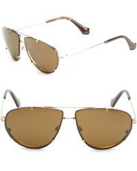 Balenciaga - 62mm Aviator Sunglasses - Lyst