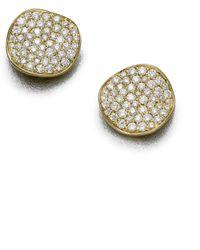 Ippolita - Stardust Diamond & 18k Yellow Gold Large Stud Earrings - Lyst