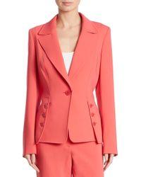 ESCADA - One Button Jacket - Lyst