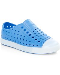 Native Shoes - Kid's Jefferson Glow Slip-on Trainers - Blue - Size C4 / 4 (baby) - Lyst
