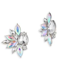 ABS By Allen Schwartz - Marquise Cluster Earrings - Lyst