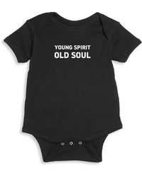 Knowlita - Baby's Young Spirit Cotton Bodysuit - Lyst