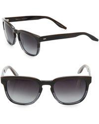 Barton Perreira Coltrane Mudsli 54mm Wayfarer Sunglasses - Multicolor