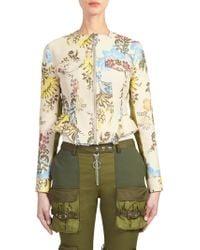 Marques'Almeida - Floral Zip-front Jacket - Lyst