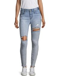 RTA - Gypsy Distressed Skinny Jeans - Lyst