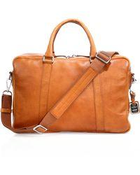 Shinola - Essex Slim Briefcase - Lyst