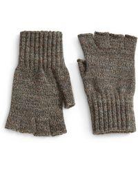 Barbour - Fingerless Gloves - Lyst