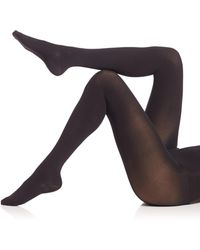 Wolford - Velvet 66 Leg Support Shaping Black Out Tights - Lyst