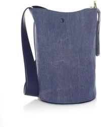 Derek Lam - Grove Denim Bucket Bag - Lyst