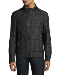 Strellson - Skull Plaid Jacket - Lyst