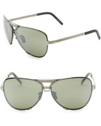 e1679457d2 Lyst - Porsche Design P 8478 Titanium Aviator Sunglasses for Men