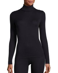 Hanro - Silk/cashmere Turtleneck Top - Lyst