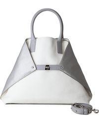 Akris - Ai Medium Convertible Leather Tote - Lyst
