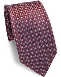 Corneliani - Embroidered Silk Tie - Lyst